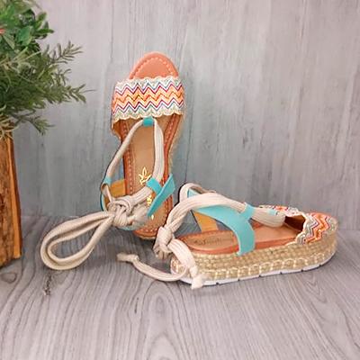 Sandália Plataforma Corda | Eu Amo Calçados