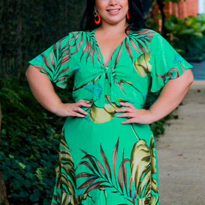 Vestido Plus Size | Florinda Boutique