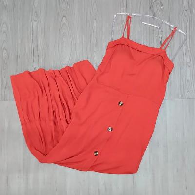 Vestido Longo Coral | Guimel Modas