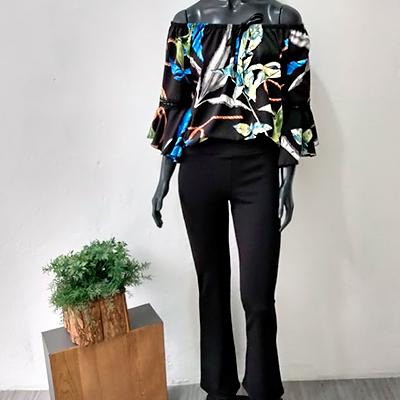 Conjunto Calça e Blusa | Suellen Fashion