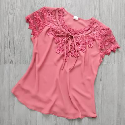 Blusa Rendinha Rosê | Style Store