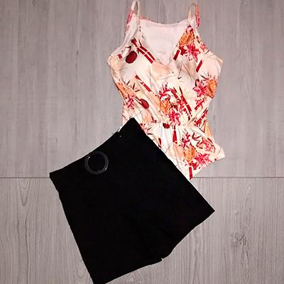 Conjunto Body e Short | Bia Look