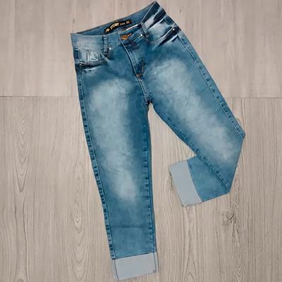 Calça Jeans Skinny   Gata Mineira