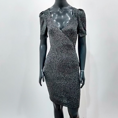 Vestido Lurex Midi | WF With Fashion
