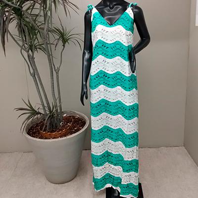 Vestido Longo Viscose | B Closet