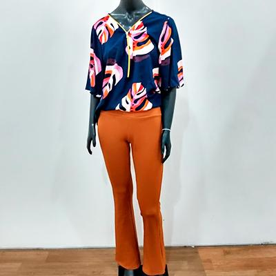 Conjunto Calça e Blusa | Super poderosa Moda Feminina