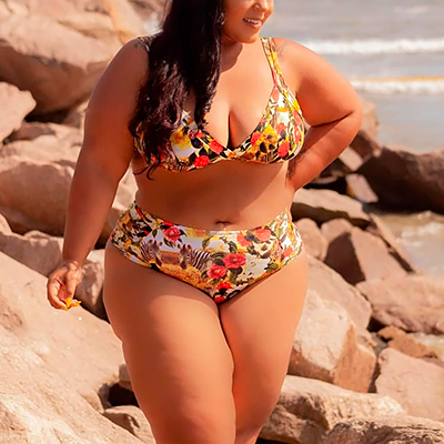 Biquíni Plus Size | Brisa do Mar