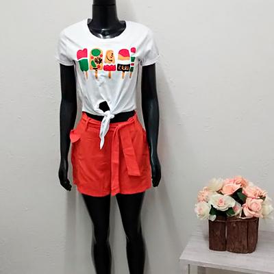 Conjunto Short e Blusa | Della Store