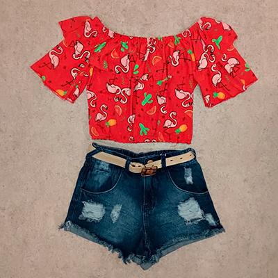 Short Jeans Feminino | Tony Modas