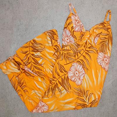 Vestido Estampado Flowers | Lili Elegância Plus