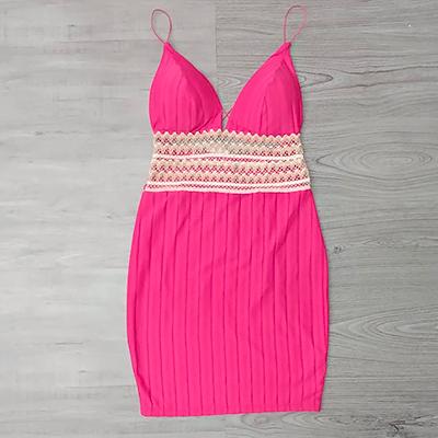 Vestido Curto Pink | Paulistinha Modas