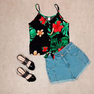 Short Jeans Feminino | Glamour Casual