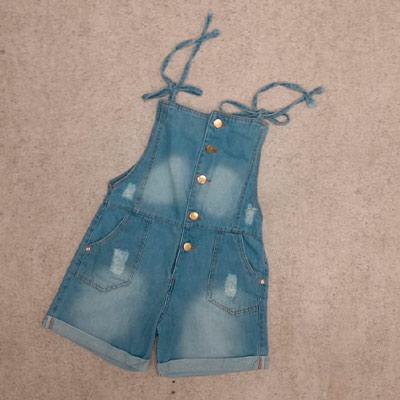 Macacão Jeans Infantil | Picorrucha