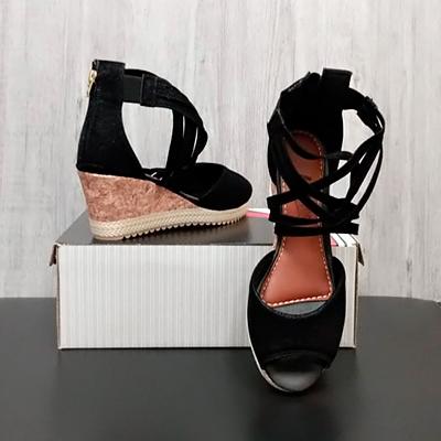 Sandália Anabela Casual | Passarela Calçados