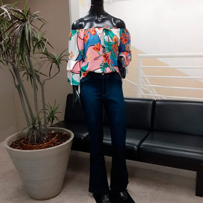Blusa Ciganinha Estampada | Glamour Modas