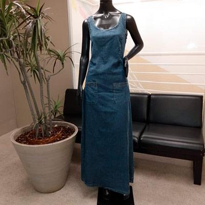 Vestido Longo Jeans | Nilma Nascimento