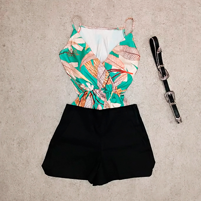 Short Feminino Alfaiataria | Cout Modas