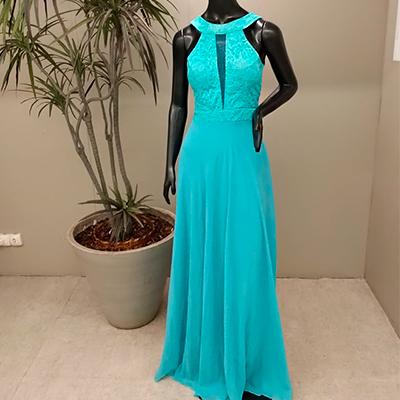 Vestido de Festa Color | Elizana Modas
