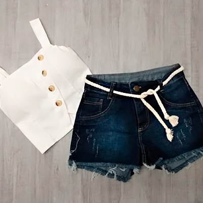 Short Jeans Feminino | Amorim Modas