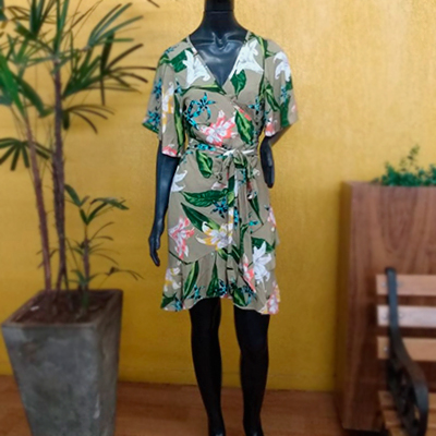 Vestido Manga Flaire | Bella Boutique