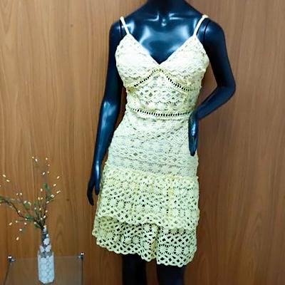 Vestido Laise Amarelo | Maria Morena