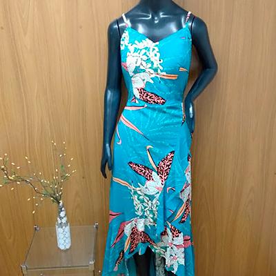 Vestido Mullet Estampado | Ponto da Moda