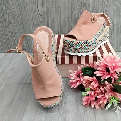 Sandália Plataforma Color | Gui Calçados