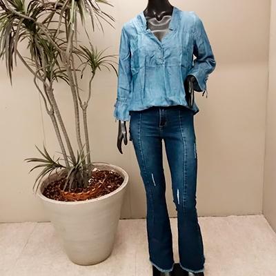 Bata Jeans Feminina | Linha do Corpo