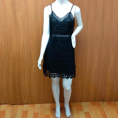 Vestido Renda Preta | Outlet 103