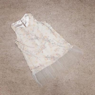 Vestido Infantil Tule | Girrafas