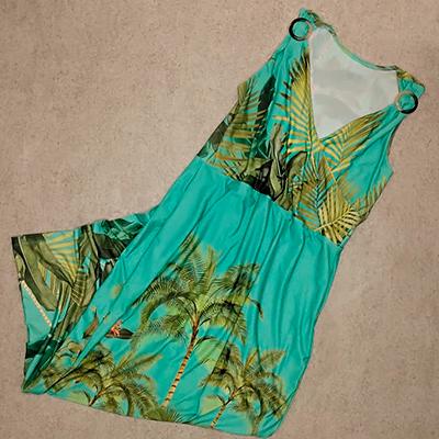 Vestido Longo Estampado | Florinda Boutique