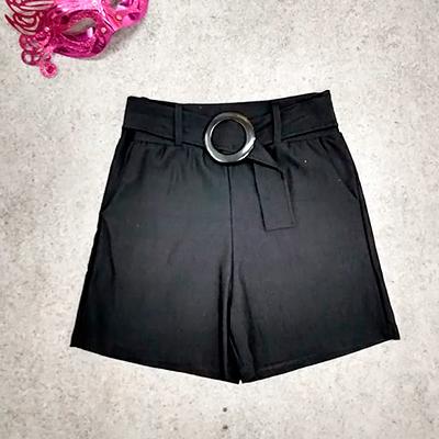 Short Feminino Preto | Nick Modas