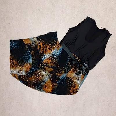 Vestido Longo Plus | Explode Coração Moda Plus Size