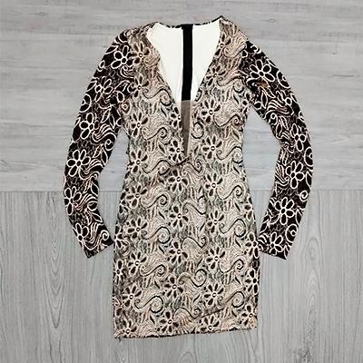 Vestido Tubinho Renda | Maya Store
