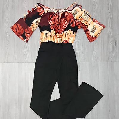 Conjunto Calça e Blusa | Jane Modas