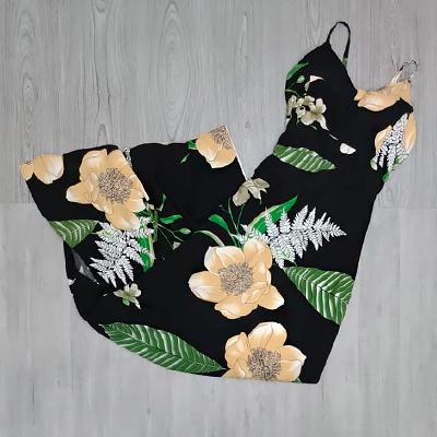 Vestido Longo Flower | Jane Modas