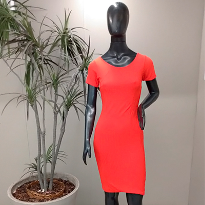 Vestido Curto Color | Boutique da Lila