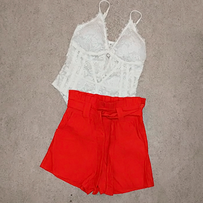 Body Renda Branca   GL Moda e Fashion