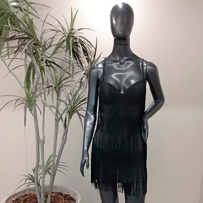 Vestido de Franja | Estilo de Mulher