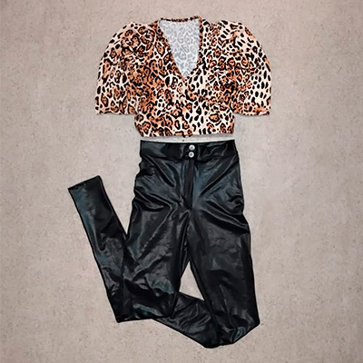 Cropped Animal Print | Charmosa Store