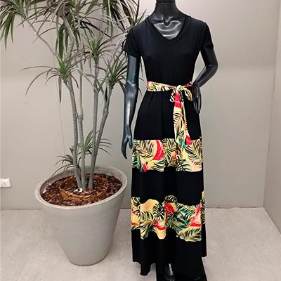 Vestido Longo Estampado | Eliane Vest