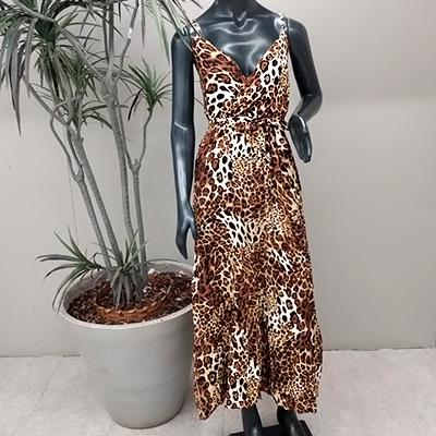 Vestido Longo Estampado | Maricota