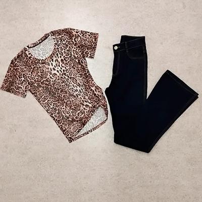 Conjunto Calça e Blusa | Peça Rara