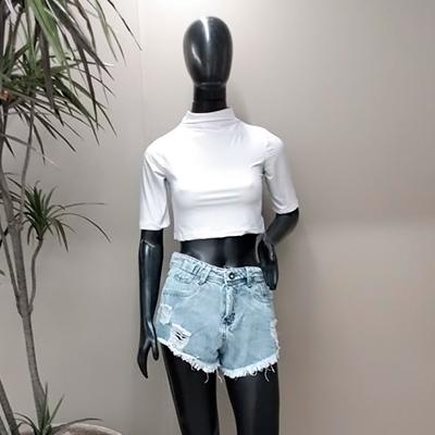 Short Jeans Desfiado   Sorrentina