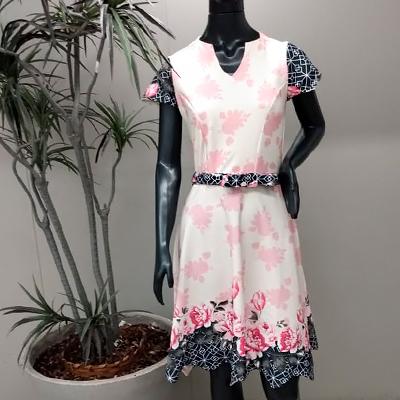 Vestido Estampado Flower | Maju Modas