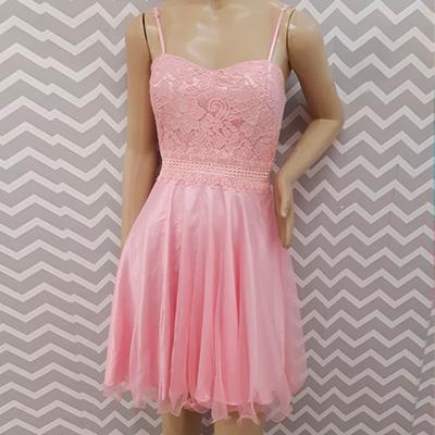 Vestido de Festa Rosa | Rogéria  Passos
