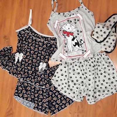 Pijamas Feminino | Tia Vilma Pijamas