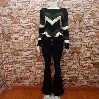 Conjunto Blusa e Calça | Raquel Guedes