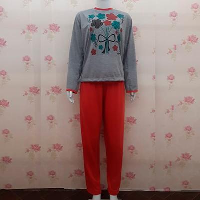 Pijama Adulto Manga Longa | Pérola Moda Íntima