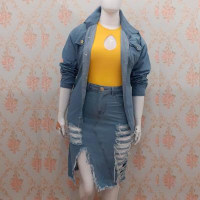 Conjunto Jeans Plus Size | Lili Elegância Plus